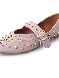 The new college wind small leather shoes women's shoes with flat leisure shoes