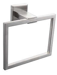 Towel Ring / BrushedStainless Steel /Contemporary
