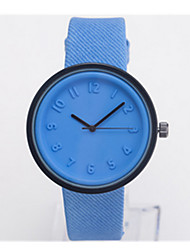 Mulheres Relógio Esportivo Quartzo / Aço Inoxidável Banda Vintage Azul Vermelho Marrom Verde