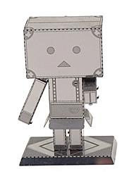 Sets zum Selbermachen Metallpuzzle Für Geschenk Bausteine Model & Building Toy Roboter Metall 14 Jahre & mehr Silber Spielzeuge