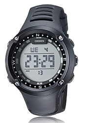 Sports Leisure Multi-Function Digital Display Movement Waterproof Watch