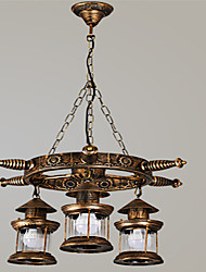 Retro Restaurant Chandelier Bedroom Study Lamps H