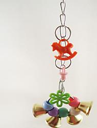Bird Toys Plastic Multi-Color