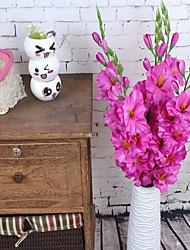 1 Une succursale Plastique Autres Fleur de Table Fleurs artificielles 13*13*80