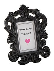 Wedding Dcor - 1pcs Black Elegant Photo Frame/Place Card Holder Beter Gifts® Wedding Dcor