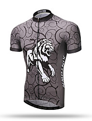 XINTOWN® Men's Cycling Jersey Short Sleeve Bike Cycle Bicycle Shirt Jersey Tiger
