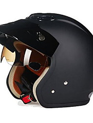 REUS ZS-381C Motorcycle Half Helmet Retro Harley Helmet ABS Material