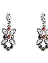 Drop Earrings Crystal Simple Style Fashion European Crystal Jewelry For Daily Casual