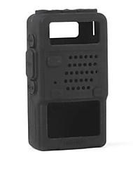 caso de la cubierta suave del silicón de la plena protección duradera compacta para la serie de Baofeng UV-5R dos vías de radio walkie