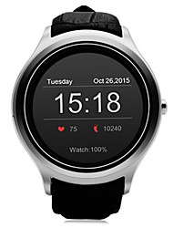 no.1 d5 Android 4.4 Bluetooth GPS mit Herzfrequenz-Monitor Google Play 512m ram 4g rom Smartwatch