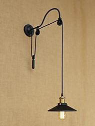 sollevamento lampada da parete della stanza da pranzo con lunghezza del filetto regolabile retrò creativa camera da letto carattere di