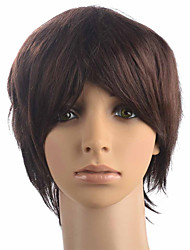 Top Quality Short BOB Synthetic Fiber Women Wig Capless Party Fashion Wig