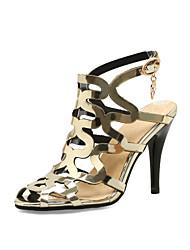 sandales printemps chaussures de club de chute d'été sangle confort cheville parti pu mariage&soir stiletto occasionnel talon boucle