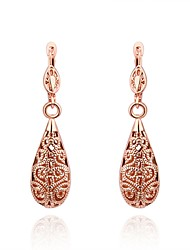 Drop Earrings Jewelry Copper Silver Plated Gold Plated Rose Gold Plated Drop Gold Silver Rose Gold Jewelry Daily Casual 1pc