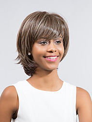 Refreshing Attractive Comfortable  Hot Sale Mixed Color  Synthetic Wig