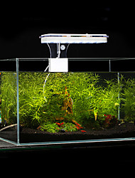 Aquarium Eclairage LED Blanc Bleu Comprend Interrupteur(s) Lampe à LED AC 100-240V