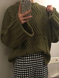 Zeichen ~ 2017 koreanische Original mondäne Rundhals Pullover Pullover Mantel neuen Zustrom von Frauen