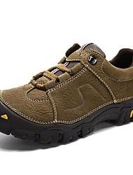 Athletic Shoes Spring Summer Fall Winter Comfort Nappa Leather Outdoor Athletic Casual Work & Safety Black Brown Hiking