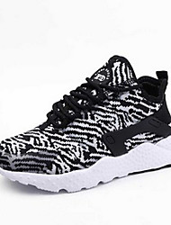 Women's Athletic Shoes Spring Summer Light Soles PU Athletic Lace-up Black Blue Green Gray Burgundy Other