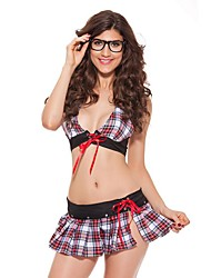 Sexy Cosplay School Girl Sexy Bra and Skirts Student Role Play Fantasia Cosplay Halloween Carnival Costumes for Adult Women