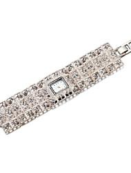 Bracelet de Montre Japonais Bande Elégantes Argent
