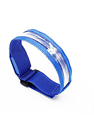 Reflective Wristbands Safety Lights Glow Belt LED Running Armband Compact Size for Camping/Hiking/Caving Cycling/Bike Outdoor Climbing-