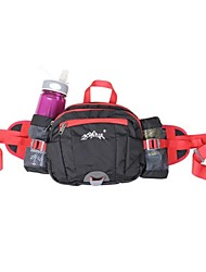 Sports Bag Waist Bag/Waistpack Multifunctional Running Bag Camping & Hiking Fitness Leisure Sports Jogging Cycling/Bike Traveling Not to Bring a Kettl