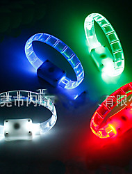 Safety Lights LED Running Armband Compact Size for Camping/Hiking/Caving Cycling/Bike Outdoor Climbing-Green White Red