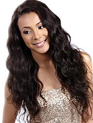 cabelo humano de venda quente rendas frente perucas onda natural de 100% perucas virgem malaio dianteiras do laço do cabelo com cabelo do