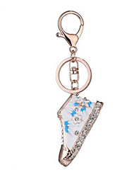 Key Chain Key Chain Toys Chic & Modern Creative Leisure Hobby Blue Metal