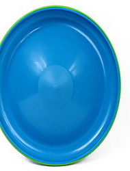 Dog Toy Pet Toys Flying Disc Durable Random Color Plastic