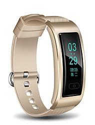 Smart-Armband Wasserdicht Long Standby Schrittzähler Übungs Tabelle Sport Herzschlagmonitor Temperatur Anzeige BMI FM Radio Timer
