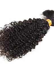 Kinky Bulk Hair For Braiding Kinky Curly Virgin Human Hair For Braiding Bulk No Attachment Crochet Braids