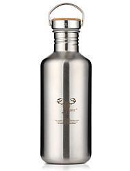 Классика Спорт Идти На открытом воздухе Стаканы, 1200 ml Переносной С защитой от протекания Нержавеющая сталь Пиво Вода Бутылки для воды