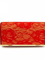 Women Cotton leatherette Formal Event/Party Wedding Evening Bag Handbag Clutch More Colors