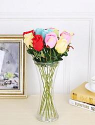 1 Филиал Пластик Розы Букеты на стол Искусственные Цветы 5*5*42