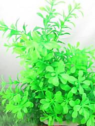 Оформление аквариума Водное растение Пластик Зеленый