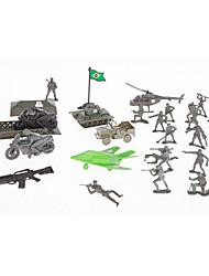 Tue so als ob du spielst Action - Figuren & Plüschtiere Vorführmodell Model & Building Toy Spielzeuge Neuartige Spielzeuge Plastik Grün