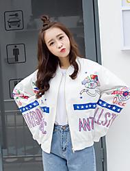 signer 2017 version coréenne du nouvel étudiant l'impression graffiti court paragraphe manteau marée