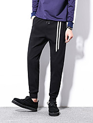2017 spring and summer sports pants men casual pants Wei pants male sports pants cuffs bundle