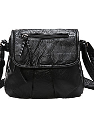Women Bags All Seasons PU Shoulder Bag with for Casual Formal Outdoor Office & Career Professioanl Use Black