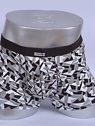 Rétro Imprimé Sous-vêtements MoulantsCarbone de Bambou