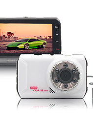 naway® voiture dvr 170 degrés à double lentille 3 pouces grand angle surveillance enregistreur vidéo en boucle de vision nocturne