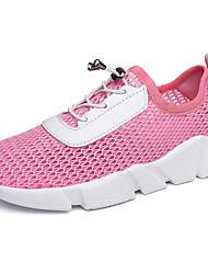 chaussures de sport féminin printemps été confort de tulle décontracté en plein air