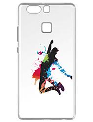 Para Transparente Diseños Funda Cubierta Trasera Funda Other Suave TPU para Huawei Huawei P9 Huawei P9 Lite Huawei P8 Huawei P8 Lite