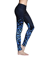 Yoga Pants Tights Leggings Bottoms Breathable Quick Dry Natural High Elasticity Sports Wear Women'sYoga Pilates Exercise & Fitness