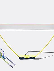 Federballnetz Badminton Beiträge und Net 74.0*34.0*14.0 Hochelastisch Dauerhaft für Draußen Legere Sport