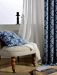 Window Treatment Collection(Drapes&Sheer) Curtain Modern  Flower Bedroom Cotton Material Blackout Curtains Drapes Home Decoration For 300*100