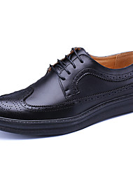 Men's Oxfords Spring Summer Formal Shoes Bullock shoes Cowhide Office & Career Party & Evening Casual Flat Heel Gore