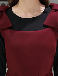 signent un nouvel arc lâche jupe talonnage robe en deux parties